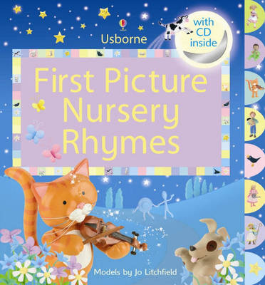 First Picture Nursery Rhymes - Usborne First Picture Books