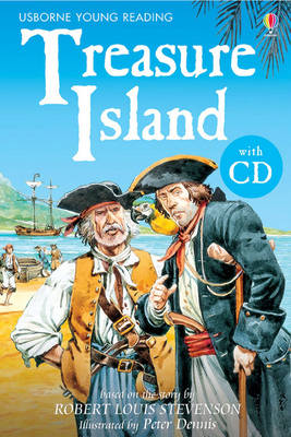 Treasure Island - 3.2 Young Reading Series Two (Blue) (CD-Audio)