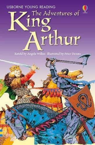 The Adventures Of King Arthur - 3.2 Young Reading Series Two (Blue) (Hardback)