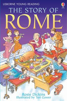The Story Of Rome - 3.2 Young Reading Series Two (Blue) (Paperback)
