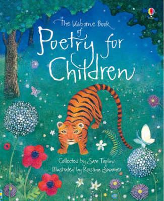 The Usborne Book of Poetry - Nursery Rhymes and Poetry (Hardback)