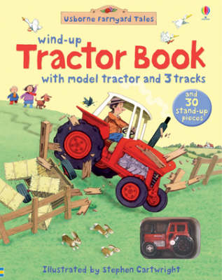 Farmyard Tales Wind-Up Tractor Book - Wind-up Books