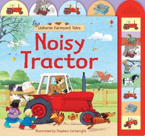 Farmyard Tales Noisy Tractor - Farmyard Tales (Board book)