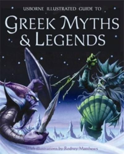 Greek Myths and Legends (Paperback)