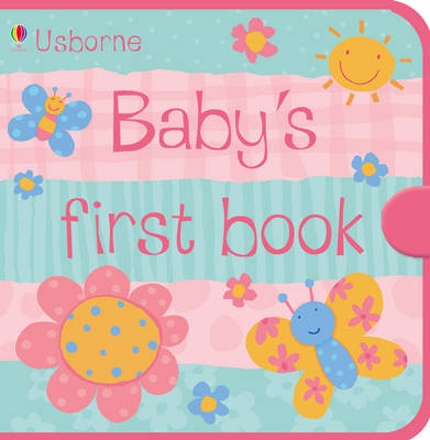 Usborne Baby's First Book Blue Cloth Book - Cloth Books