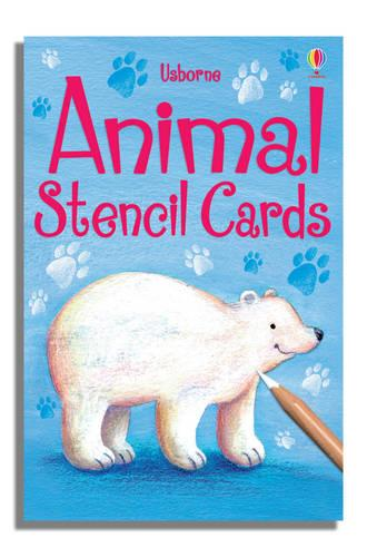 Animals Stencil Cards - Activity and Puzzle Cards