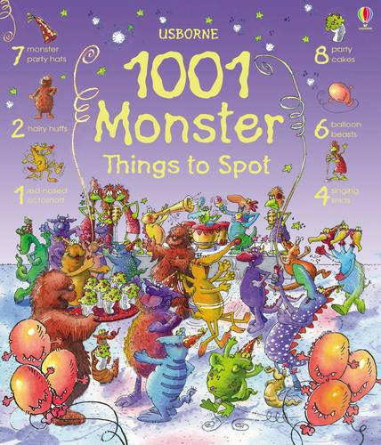 1001 Monster Things to Spot - 1001 Things to Spot (Hardback)