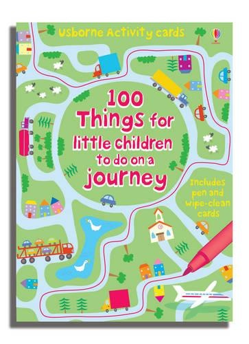 100 Things for Little Children to Do on a Journey - Activity and Puzzle Cards