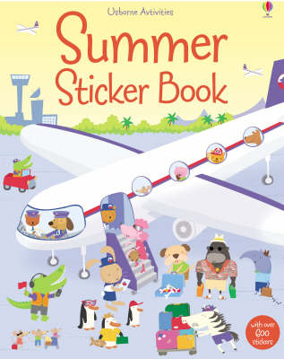 Summer Sticker Book - Sticker Books (Paperback)