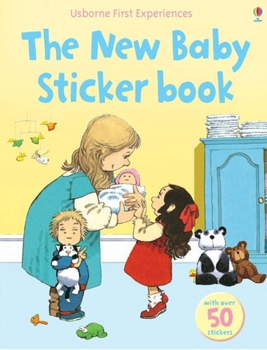 Usborne First Experiences The New Baby Sticker Book - First Experiences (Paperback)