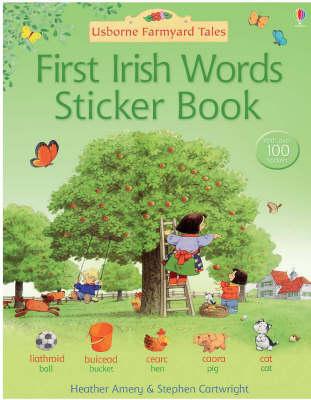 First Irish Sticker Book - Farmyard Tales (Paperback)
