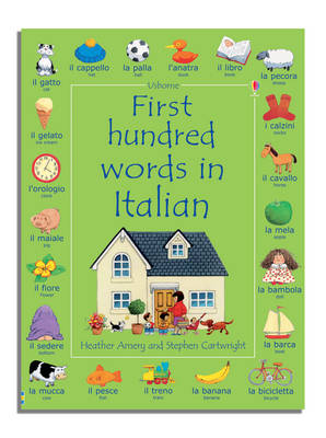 First Hundred Words in Italian (Paperback)