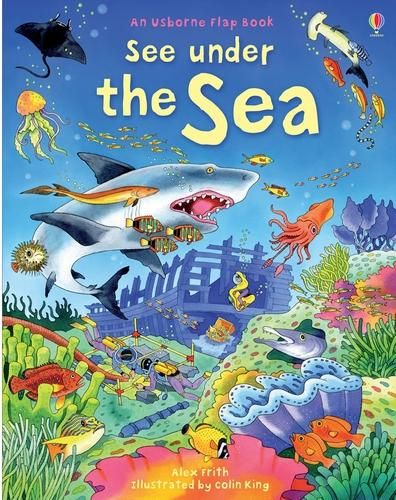 See Under the Sea - See Inside (Board book)