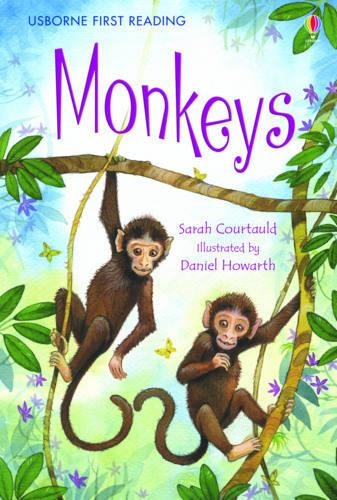 Monkeys - 2.3 First Reading Level Three (Red) (Hardback)