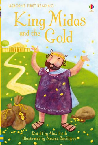 King Midas and the Gold - 2.1 First Reading Level One (Yellow) (Hardback)