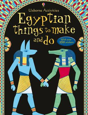 Egyptian Things to Make and Do - Usborne Activity Books (Paperback)