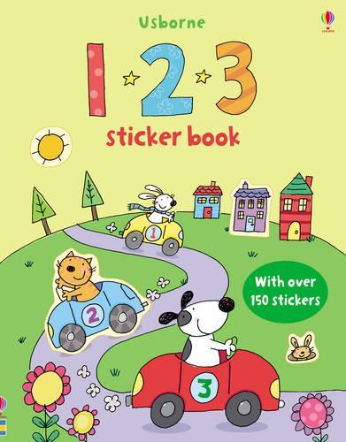 123 Sticker Book - First Sticker Books (Paperback)