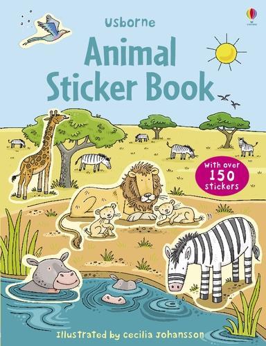 First Sticker Book Animals - First Sticker Books series (Paperback)
