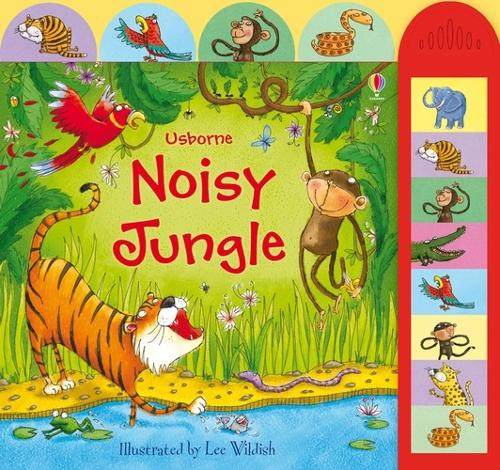 Noisy Jungle - Noisy Books (Board book)