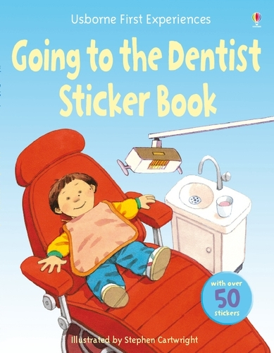 Usborne First Experiences Going to the Dentist Sticker Book - First Experiences (Paperback)