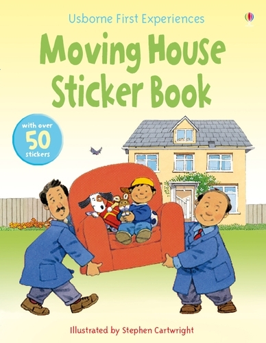 Usborne First Experiences Moving House Sticker Book - First Experiences (Paperback)