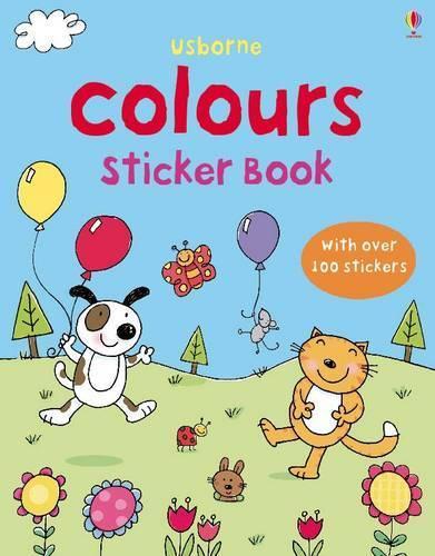 First Sticker Book Colours - First Sticker Books (Paperback)