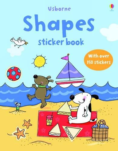 Farmyard Tales First Sticker Book: Shapes - First Sticker Books (Paperback)