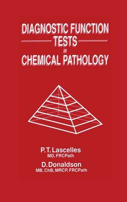 Diagnostic Function Tests in Chemical Pathology (Paperback)
