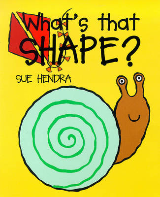 What's That Shape? (Board book)