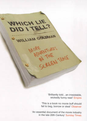Which Lie Did I Tell? (Paperback)
