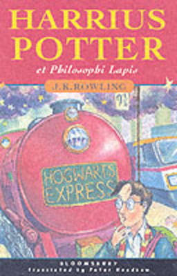 Harry Potter and the Philosopher's Stone: Harrius Potter Et Philosophi Lapis (Hardback)