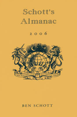 Schott's Almanac 2006 (Hardback)