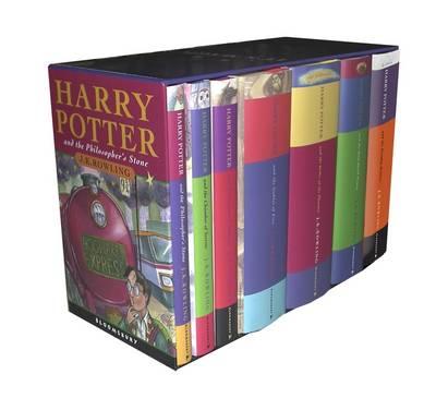 Harry Potter Classic Hardback Boxed Set (Hardback)