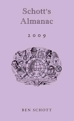 Schott's Almanac 2009 (Hardback)