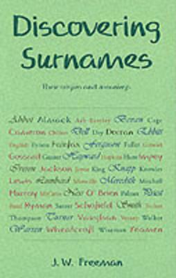 Surnames - Discovering S. 35 (Paperback)