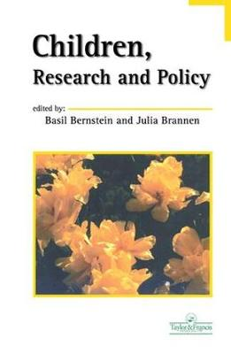 Children, Research And Policy (Hardback)