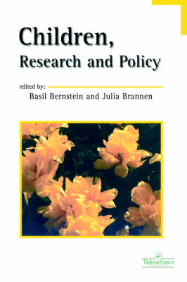 Children, Research And Policy (Paperback)