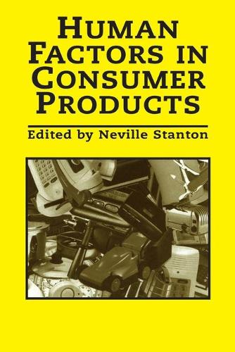 Human Factors In Consumer Products (Paperback)