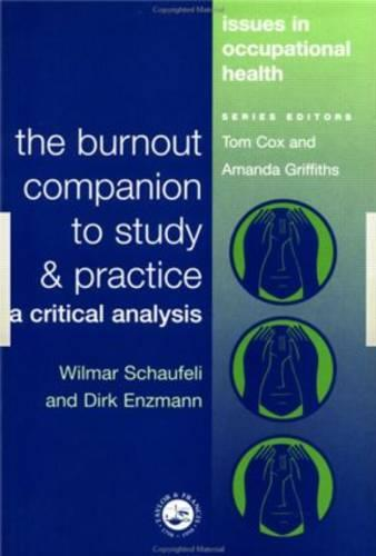 The Burnout Companion To Study And Practice: A Critical Analysis (Paperback)