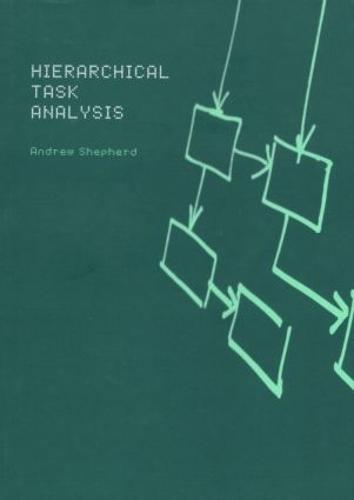 Hierarchial Task Analysis (Paperback)