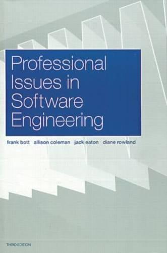 Professional Issues in Software Engineering (Paperback)