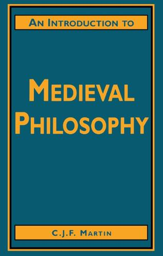 An Introduction to Medieval Philosophy (Paperback)