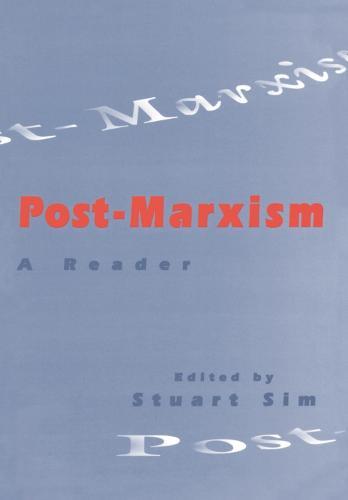 Post-Marxism: A Reader (Paperback)