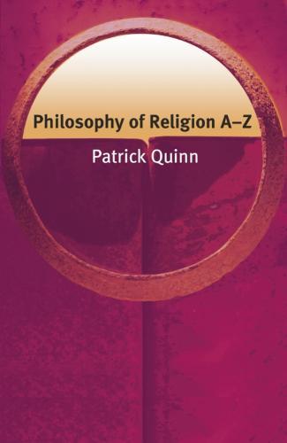 Philosophy of Religion A-Z - Philosophy A-Z (Paperback)