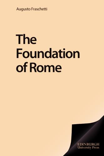The Foundation of Rome (Paperback)