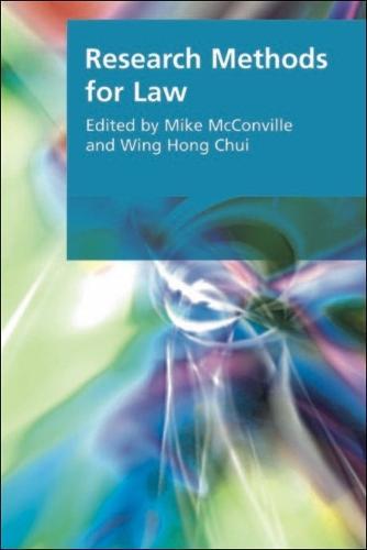 Research Methods for Law - Research Methods for the Arts and Humanities (Hardback)