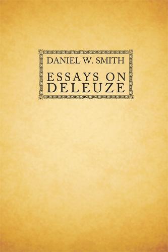 Essays on Deleuze (Paperback)