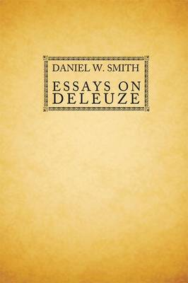 Essays on Deleuze (Hardback)