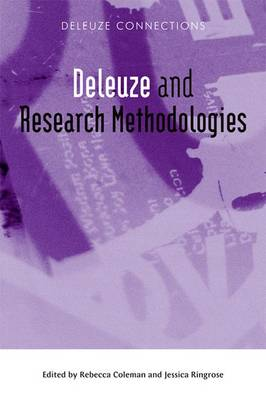 Deleuze and Research Methodologies - Deleuze Connections (Paperback)