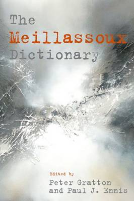 Cover The Meillassoux Dictionary